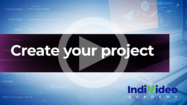 Create your project